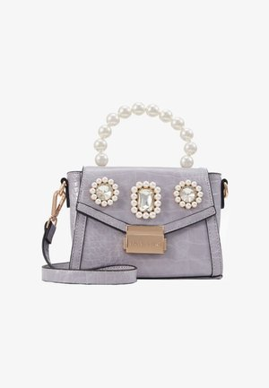 MINI EMBELLISHED GRAB HANDLE - Across body bag - light purple