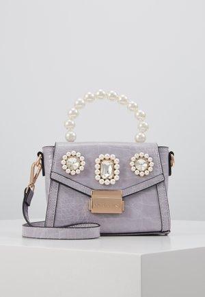 MINI EMBELLISHED GRAB HANDLE - Across body bag - light purple