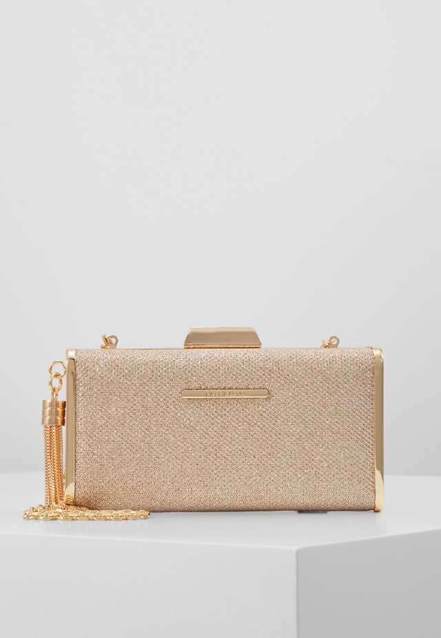 Pochette - rose gold-coloured