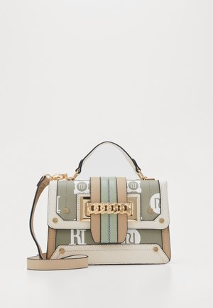 MONOG CHAIN FRONT SATCHEL - Handbag - khaki