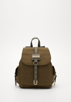LOCK NYLON BACKPACK - Reppu - green