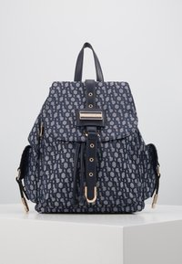 River Island - LOCK FRONT BACKPACK - Sac à dos - blue - 0