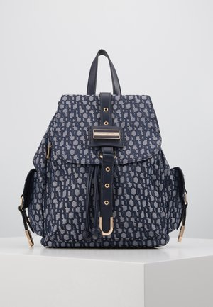 LOCK FRONT BACKPACK - Ryggsekk - blue