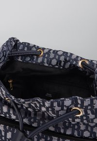 River Island - LOCK FRONT BACKPACK - Sac à dos - blue - 4