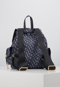 River Island - LOCK FRONT BACKPACK - Sac à dos - blue - 3