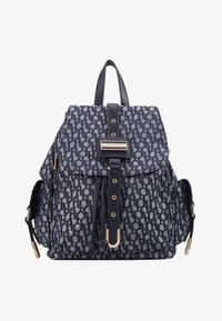 River Island - LOCK FRONT BACKPACK - Sac à dos - blue - 1