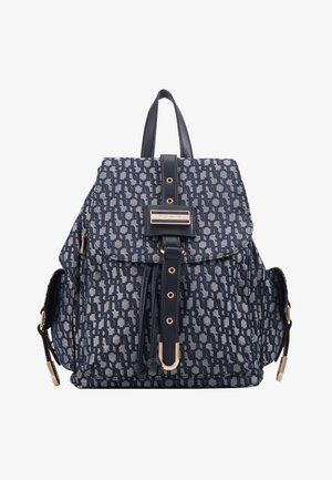 LOCK FRONT BACKPACK - Sac à dos - blue