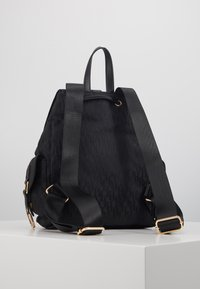 River Island - LOCK FRONT BACKPACK - Reppu - black - 3