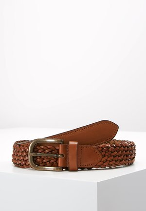 EDGAR CHOC WOVEN BELT - Cinturón - brown