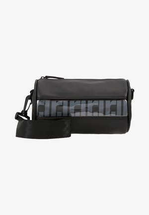 RI MONO PVC BARREL - Sac week-end - black