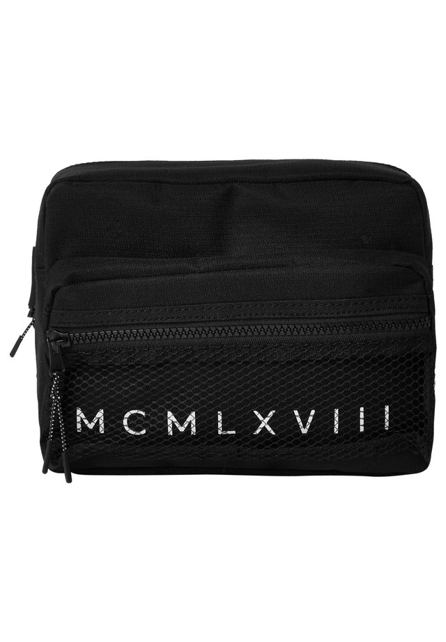 MCMLX BLACK MESH CROSS BODY BAG - Bum bag - black