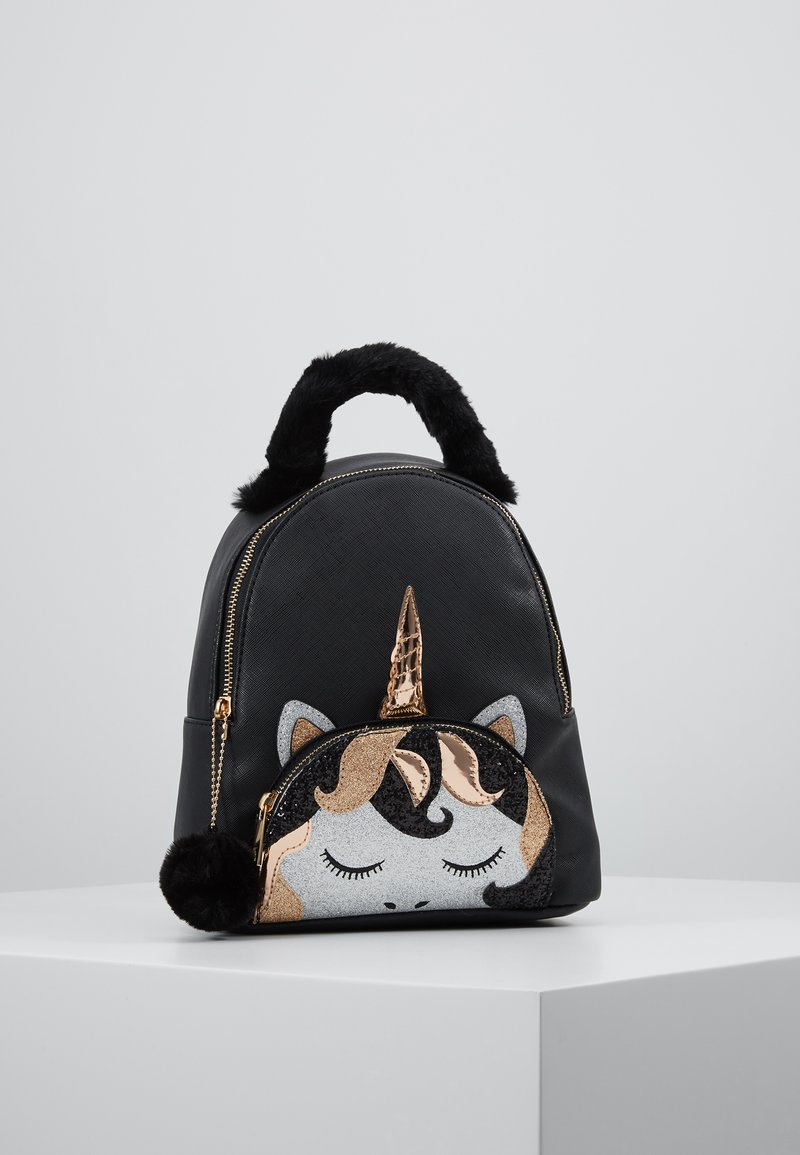 River Island - UNICORN BACKPACK - Rygsække - black