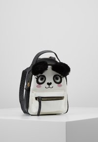 River Island - PANDA SMALL BACKPACK - Tagesrucksack - black - 0