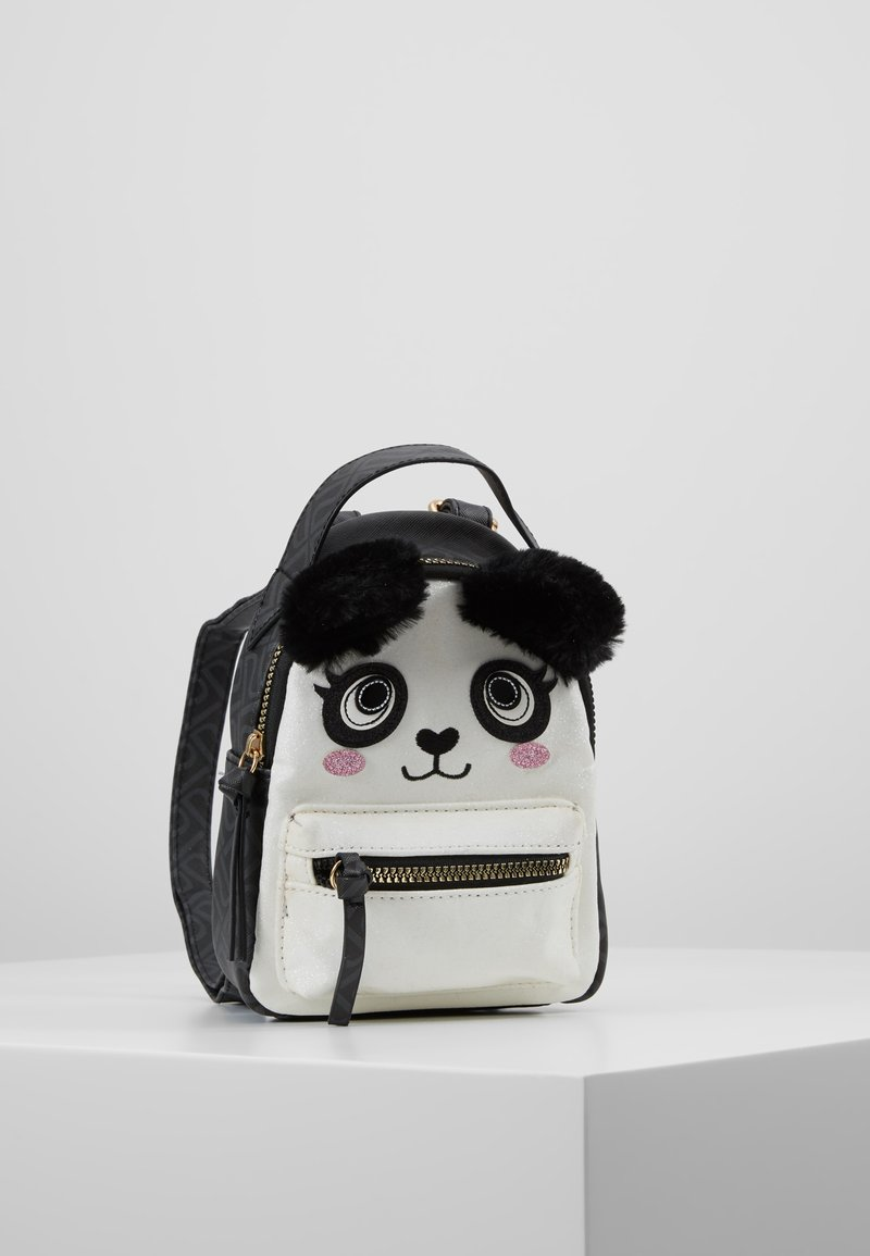 River Island - PANDA SMALL BACKPACK - Tagesrucksack - black