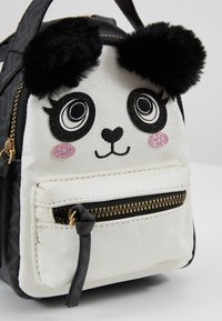 River Island - PANDA SMALL BACKPACK - Tagesrucksack - black - 2