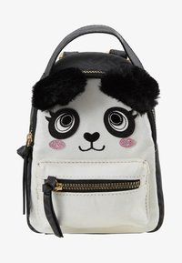 River Island - PANDA SMALL BACKPACK - Tagesrucksack - black - 1