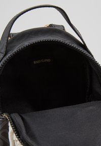 River Island - PANDA SMALL BACKPACK - Tagesrucksack - black - 5