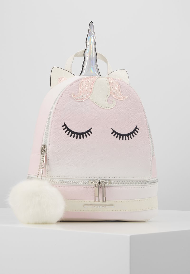 River Island - OMBRE UNICORN BACKPACK - Sac à dos - pink