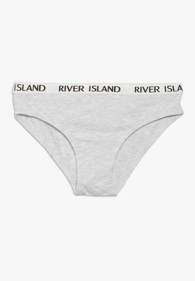 River Island - 5 PACK  - Briefs - white
