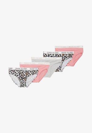 5 PACK  - Briefs - pink