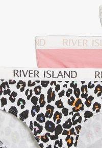 River Island - 5 PACK  - Briefs - pink - 4