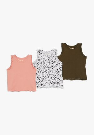 3 PACK  - Undershirt - khaki