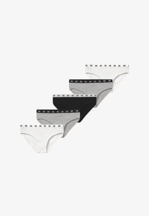 5 PACK  - Trusser - grey