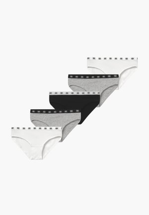 5 PACK  - Kalhotky/slipy - grey