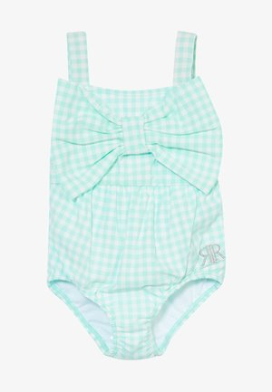 GINGHAM BOW SWIMSUIT - Badpak - mint