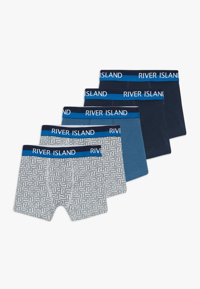 BRANDED 5 PACK - Underkläder - blue