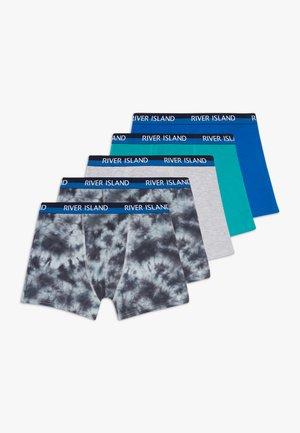 MONO TIE DYE UNPACKAGED 5 PACK - Shorty - blue