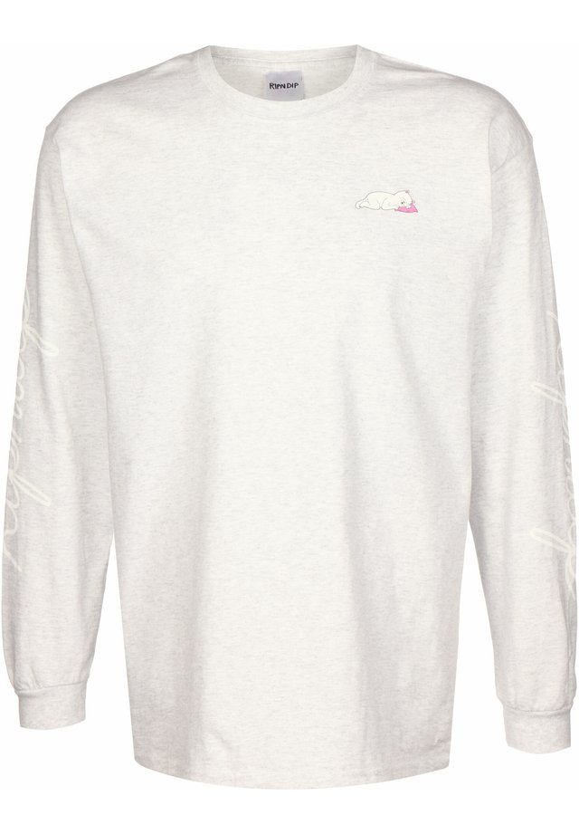 Long sleeved top - heather grey