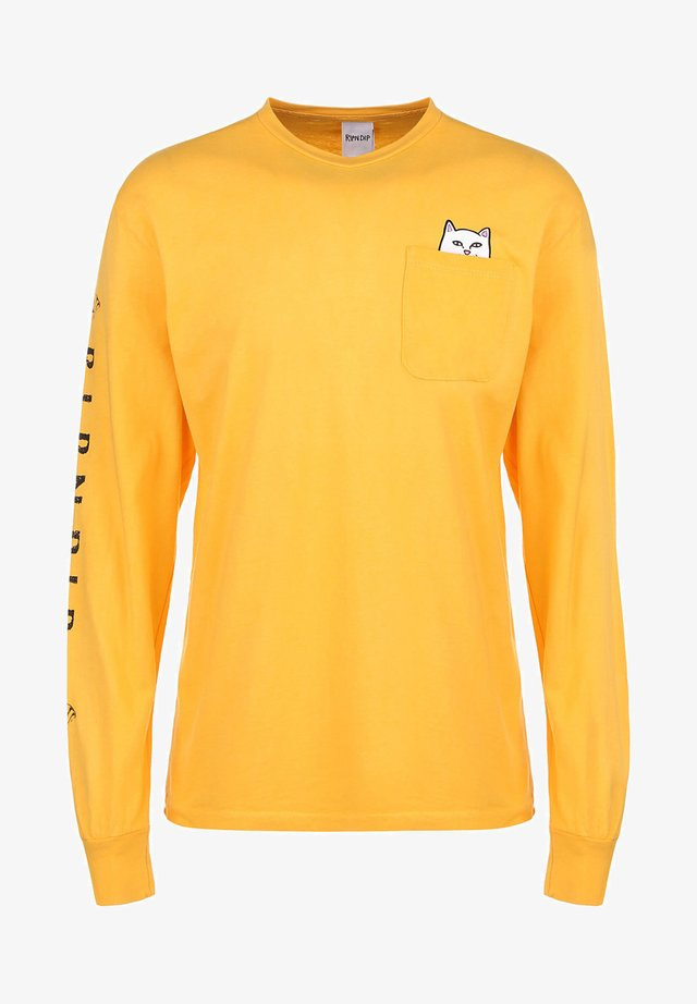 LONGSLEEVE LORD NERMAL - Long sleeved top - gold