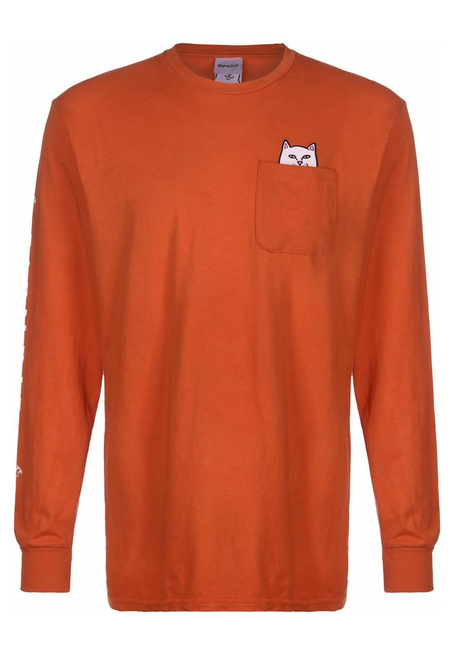 LONGSLEEVE LORD NERMAL - Long sleeved top - texas orange