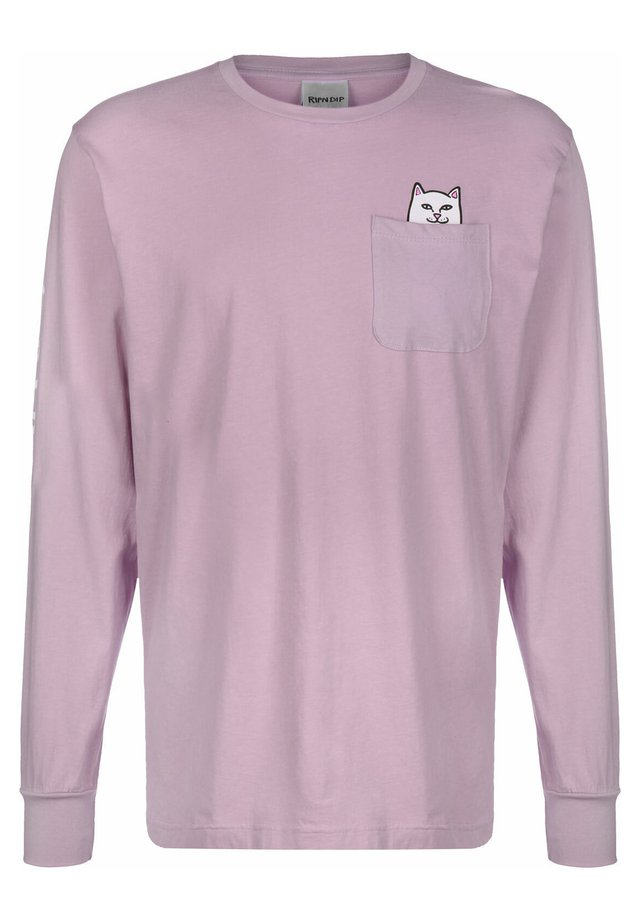 LONGSLEEVE LORD NERMAL - Long sleeved top - light purple