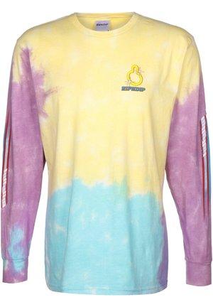 LONGSLEEVE NERMHOG - T-shirt imprimé - tie dye