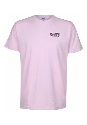 T-SHIRT GREAT WAVE - T-shirt print - lavender