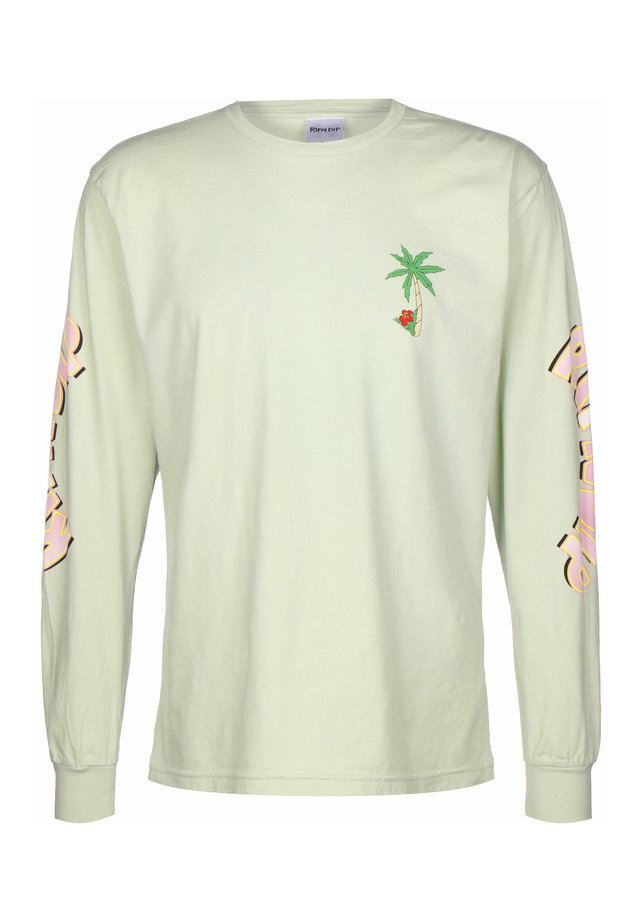 LONGSLEEVE HOT TUB - Long sleeved top - sage
