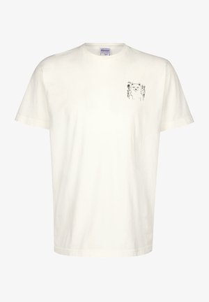 T-SHIRT FINGERED - T-shirt imprimé - natural
