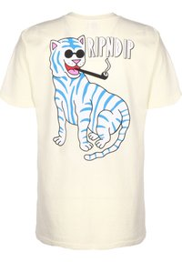 RIPNDIP - T-SHIRT COOL CAT - T-shirt print - natural - 1