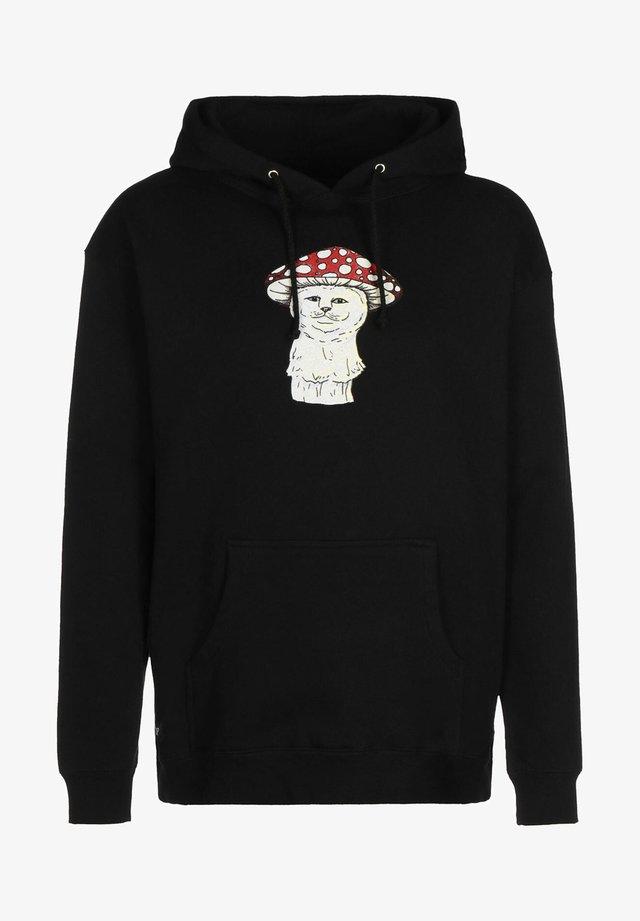 CAP - Hoodie - black