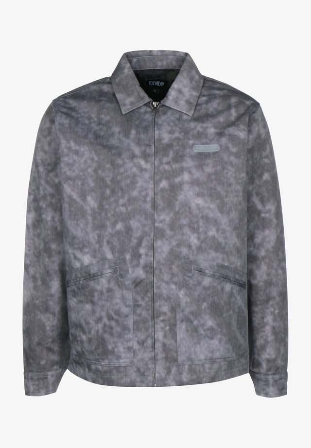 COACH JACKE MASTERPIECE - Summer jacket - grey mineral wash