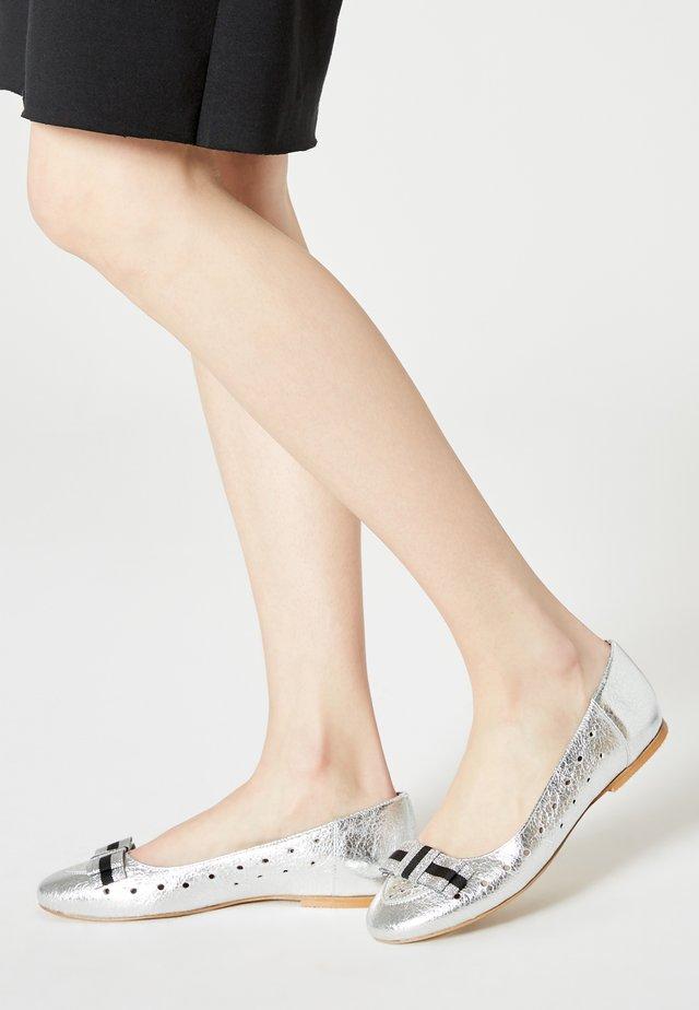 Ballerinaskor - silber