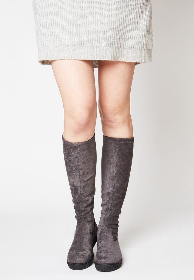 Boots - grau