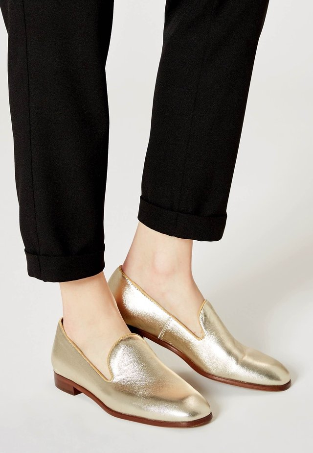 Slip-ins - gold-coloured