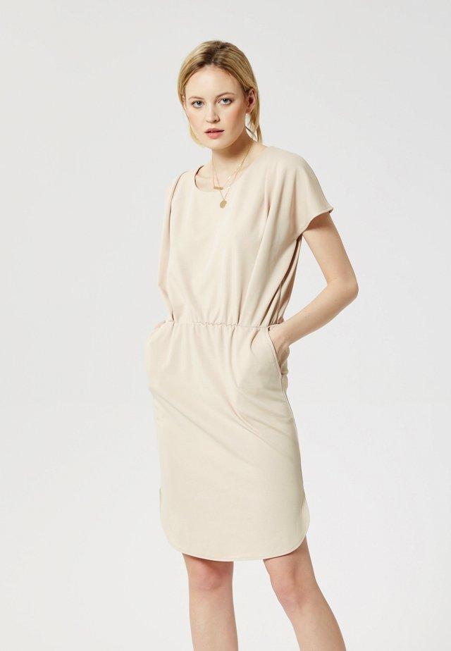 Vestido informal - beige