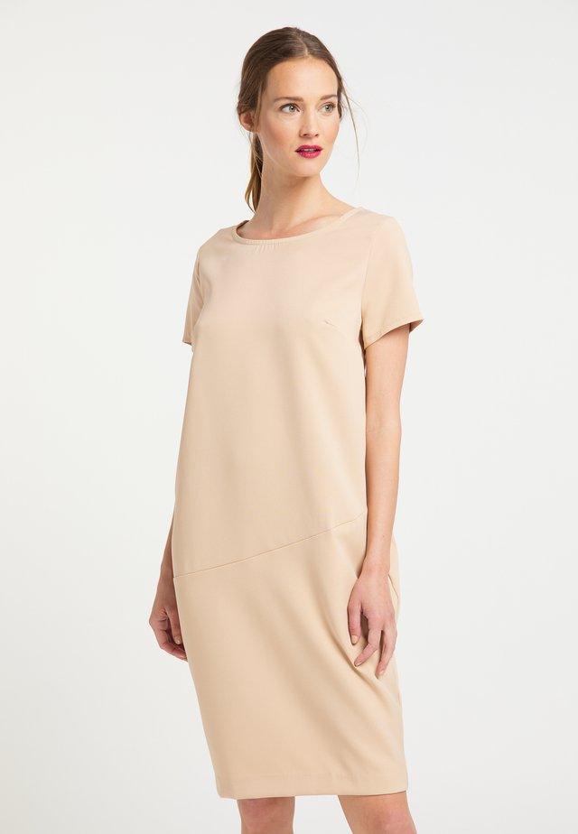 Denní šaty - dunkelbeige