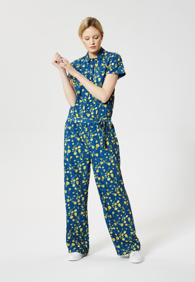 Overall / Jumpsuit /Buksedragter - yellow