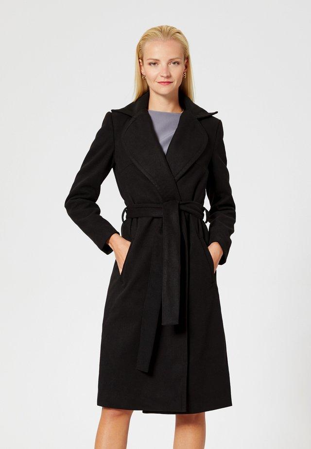 Classic coat - blac