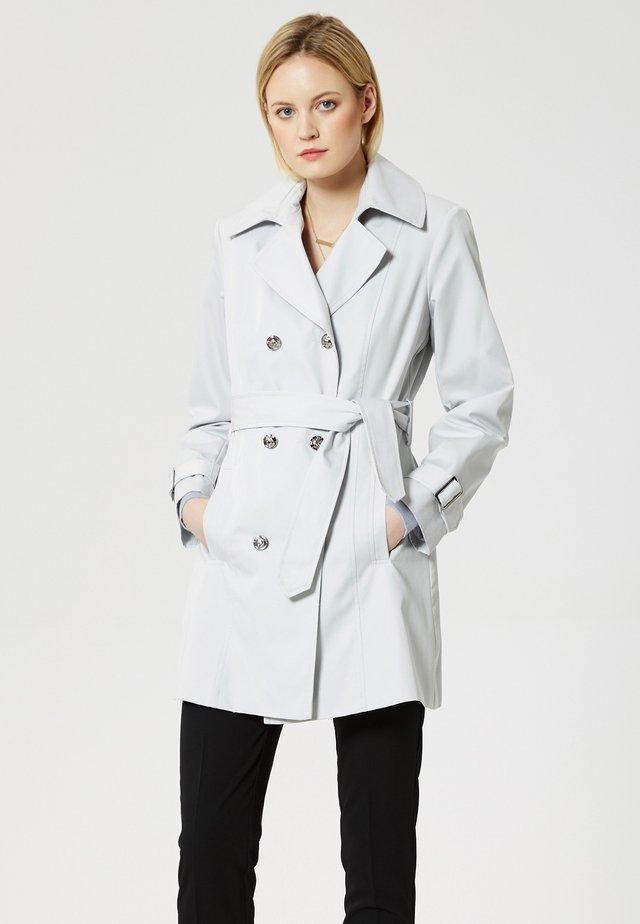 Trenchcoat - light grey